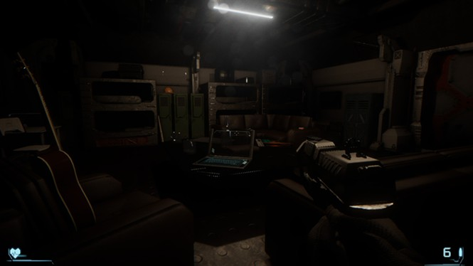 Well, this is cozy for horror. I even got a guitar. - CAMEL 101