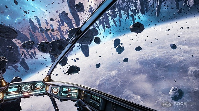 You know space has it in for you when all you see are rocks that look like daggers. - ROCKFISH GAMES