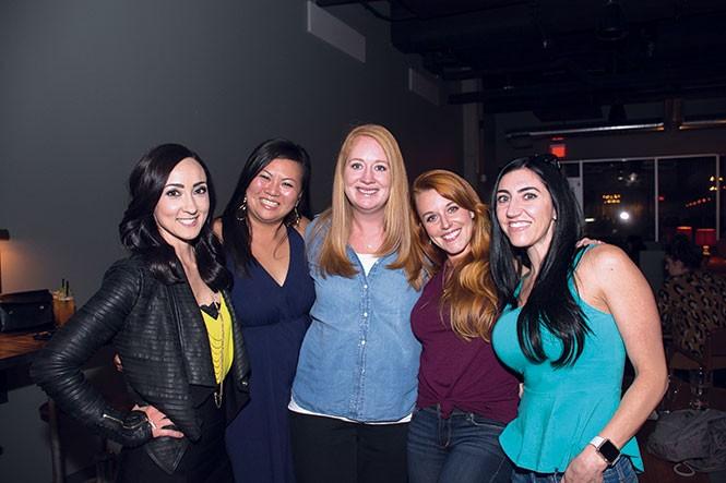 Brittany Willden, Nichole Robinson, Bethany Duffey, Raven Slissold, - Jen Unguichian