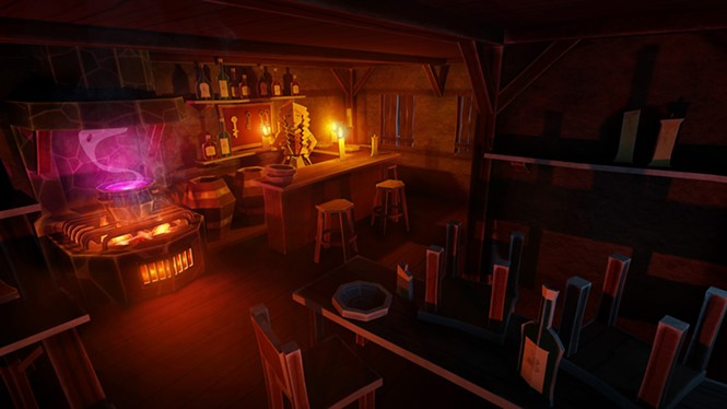 This is what Burt's Tiki Lounge would have looked like if they had a cauldron of PBR. - THING TRUNK