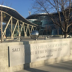 Activists and law enforcement meet every two weeks at the Salt Lake Public Safety Building - STEPHEN DARK