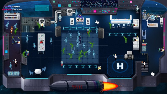 I'm sure that bomb outside of the alien facility is totally safe. - TINYBUILD GAMES