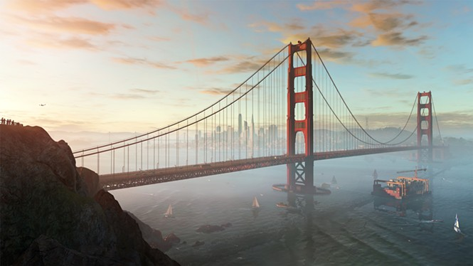 San Francisco: America's nostalgia painting of a better time - UBISOFT
