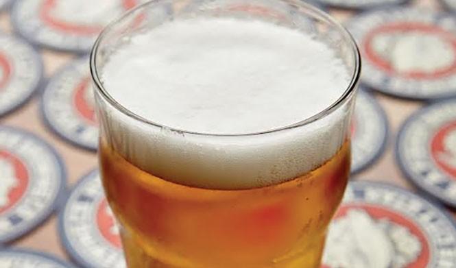 Fisher Brewing Co.'s  rye cream ale - SARAH ARNOFF