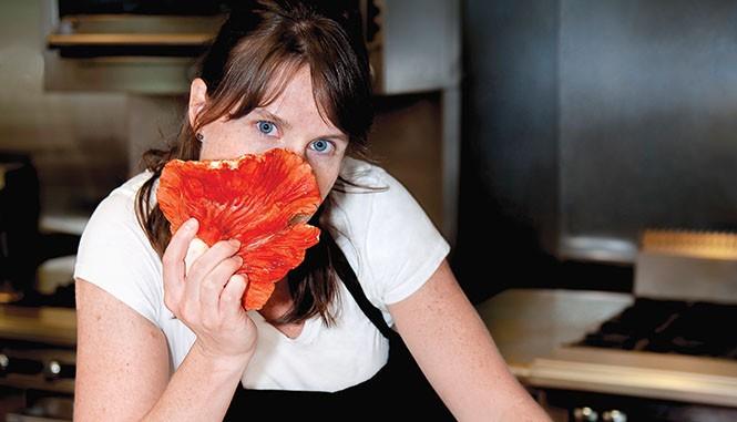 Chef Katie Weinner - ANNE STEPHENSON