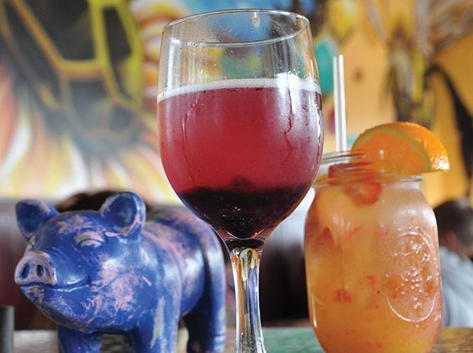 The BJ mimosa at - Pig & A Jelly Jar - DEREK CARLISLE