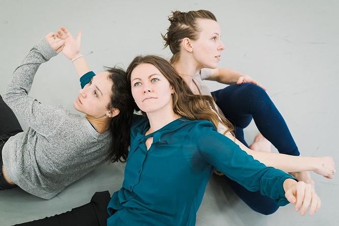 Samijo Kougioulis Meier, Brooklyn Draper, Nichele Van Portfleet - MOTION VIVID