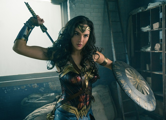 Gal Gadot as Wonder Woman - WARNER BROS. PICTURES