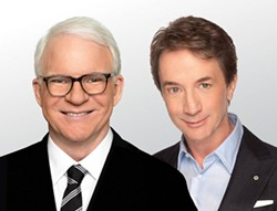 Steve Martin and Martin Short - TOUR DESIGN PHOTOGRAPHY