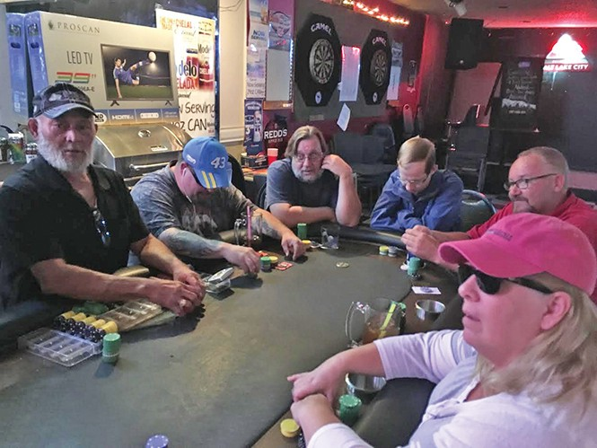 Regulars at South Salt Lake tavern Good Spirits bet new shelter will forever alter the area. - DW HARRIS