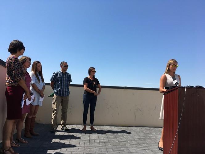Heal Utah's Policy Director Ashley Soltysiak. - DW HARRIS