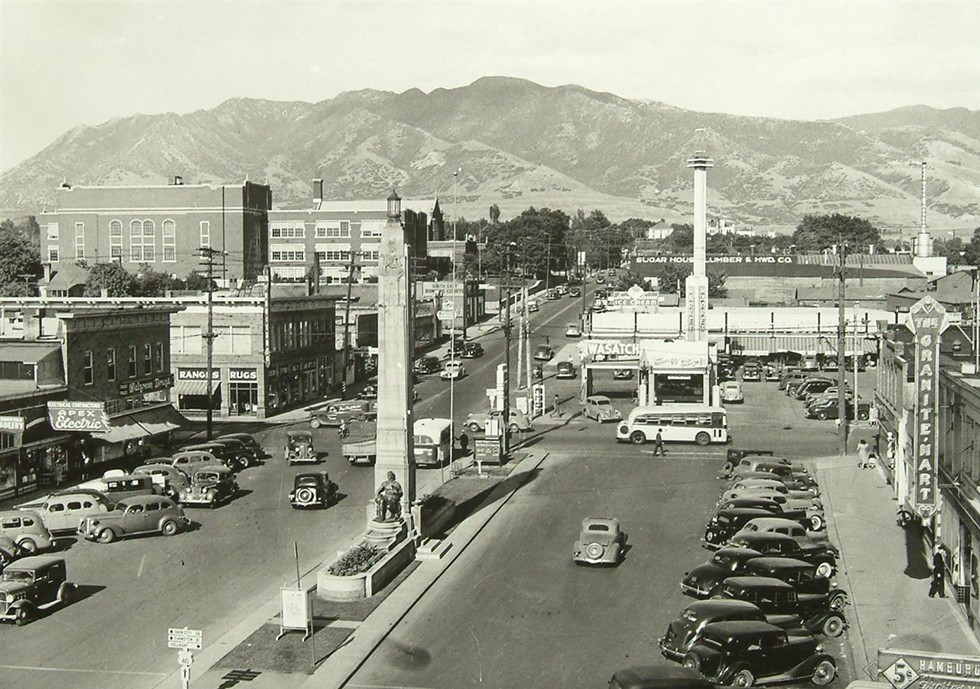 Vintage capture of the quaint and charming 'hood. - UTAH HISTORICAL SOCIETY