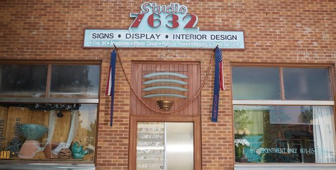 Interior designer Norm Nelson's studio, soon to close - STEVEN VARGO