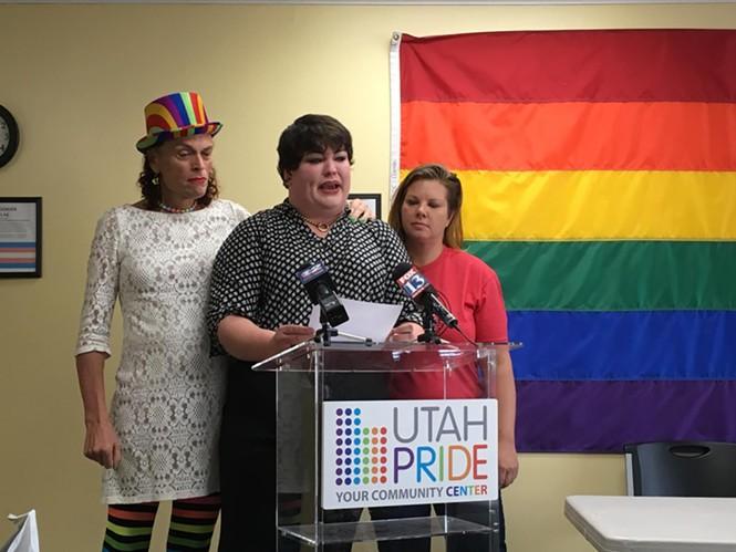 From left, Rachel Edwards, Kat Kellermeyer and Hillary McDaniel. - DW HARRIS