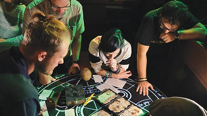 Chthulu's Library of Horror Adventure at Mystery Escape Room - JONATHAN PARDEW