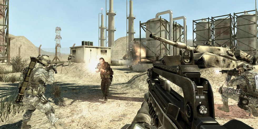With more than 250 million units sold, Call of Duty is the most successful first-person shooter video game. - ACTIVISION