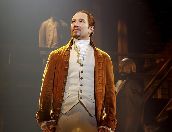 Joseph Morales as Alexander Hamilton - JOAN MARCUS