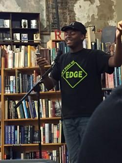 Ryan Jones performs at Weller Book Works - SCOTT RENSHAW
