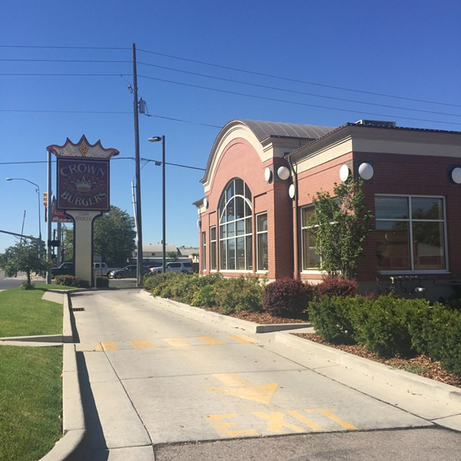 Crown Burgers Restaurant in Salt Lake City