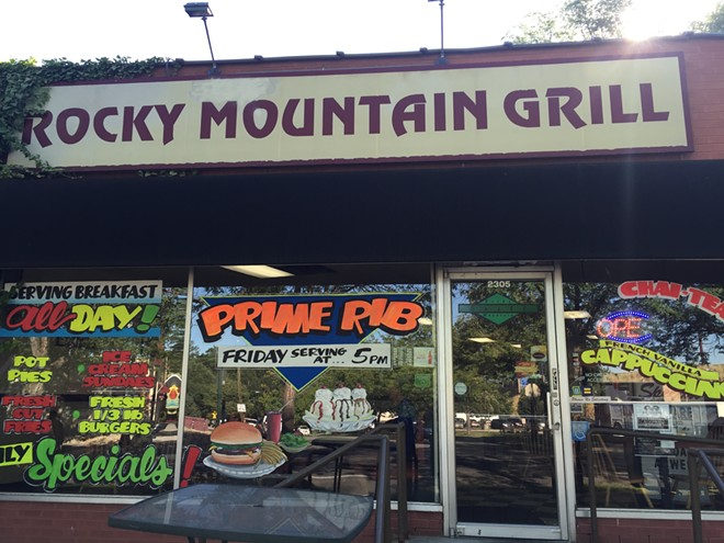 Rocky Mountain Grill restaurant in Salt Lake City