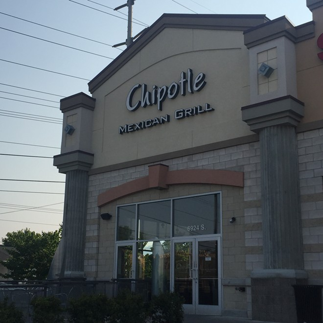 Chipotle Restaurant in Salt Lake City