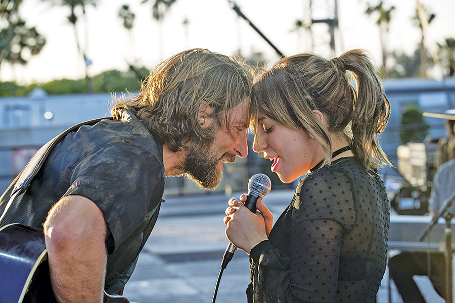 Bradley Cooper and Lady Gaga in A Star Is Born - WARNER BROS. PICTURES