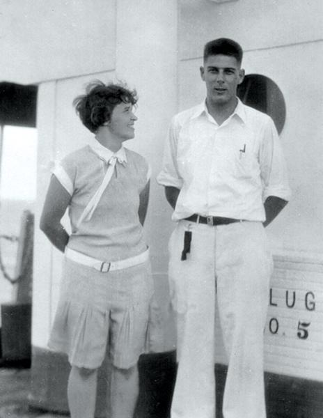 Miriam & Walter Link, 1927 - KATHERINE COLES
