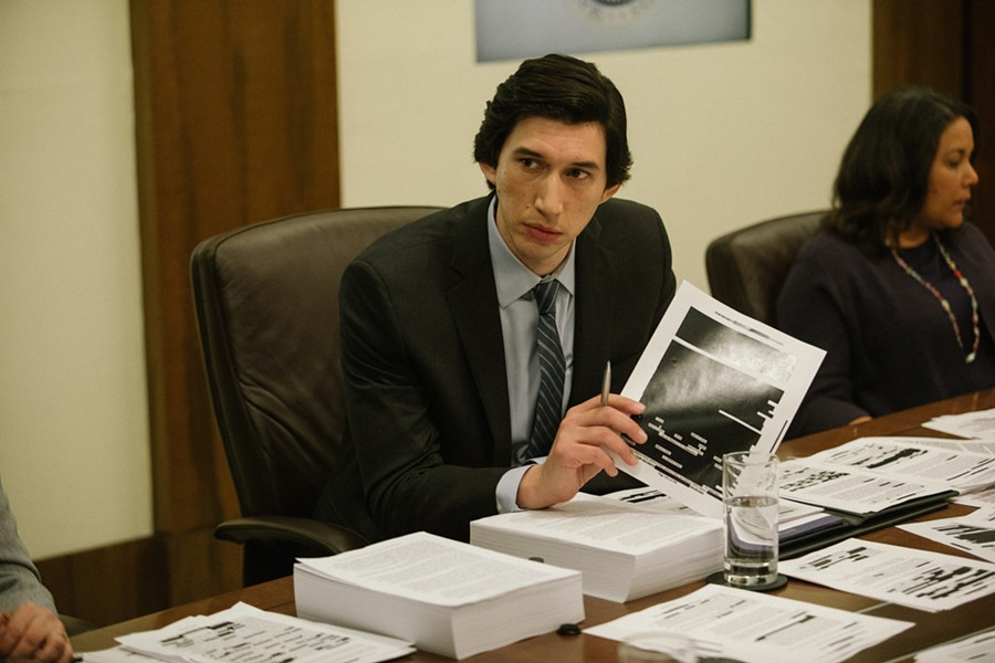 Adam Driver in The Report - SUNDANCE INSTITUTE