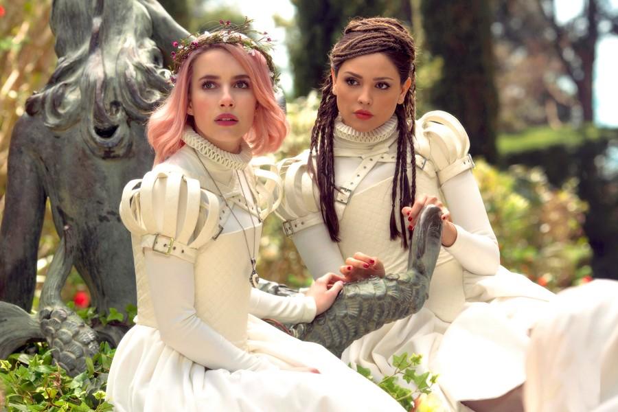 Emma Roberts and Eiza González in Paradise Hills - SUNDANCE INSTITUTE