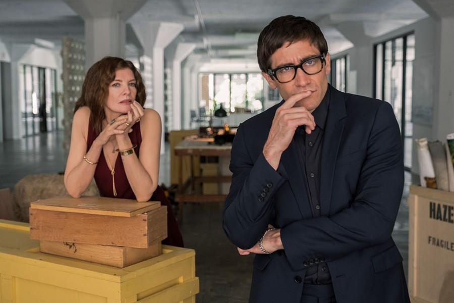 Rene Russo and Jake Gyllenhaal in Velvet Buzzsaw - SUNDANCE INSTITUTE