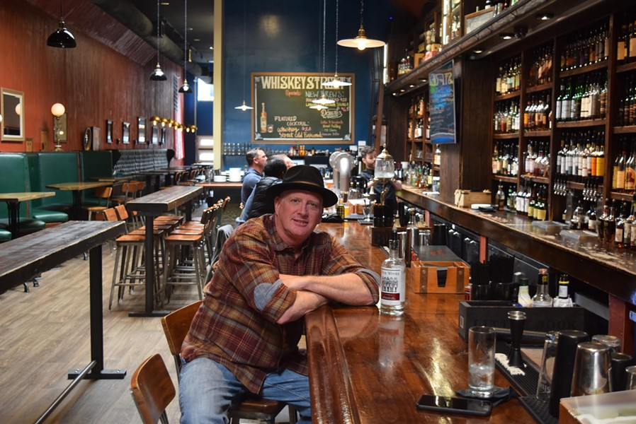 """The craft spirits movement nationwide is growing,"" Ogden's Own Distillery owner Steve Conlin says, reflecting on 10 years in Utah. - RAY HOWZE"
