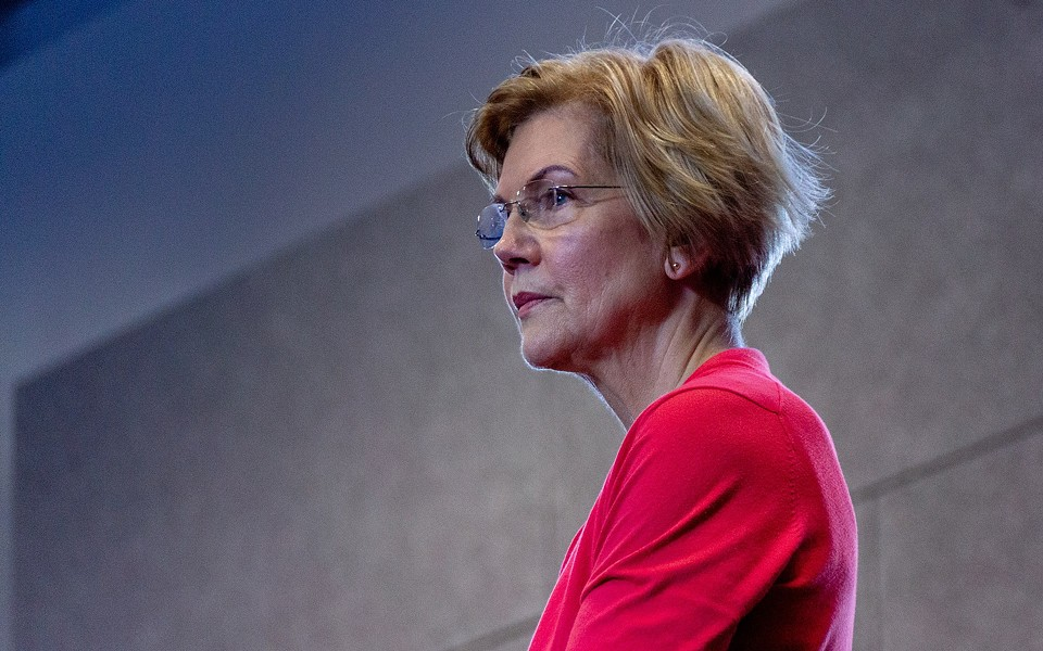 """Prior to her April 17 SLC appearance, Sen. Elizabeth Warren tweeted that presidential candidates bypass Utah """"because it isn't a battleground state."""" - MARC NOZELL VIA WIKIMEDIA COMMONS"""