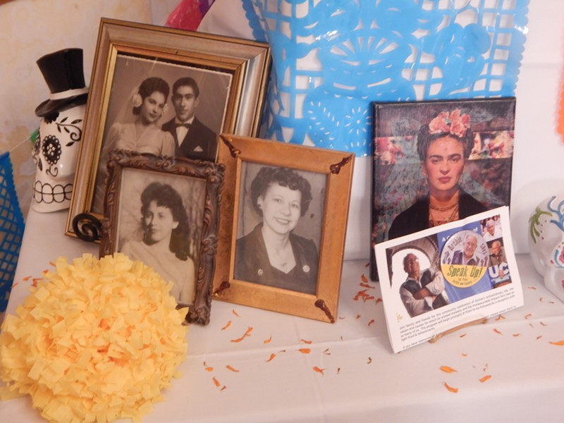 "Robert ""Archie"" Archuleta was among those remembered in the city's Day of the Dead altar. - PETER HOLSLIN"
