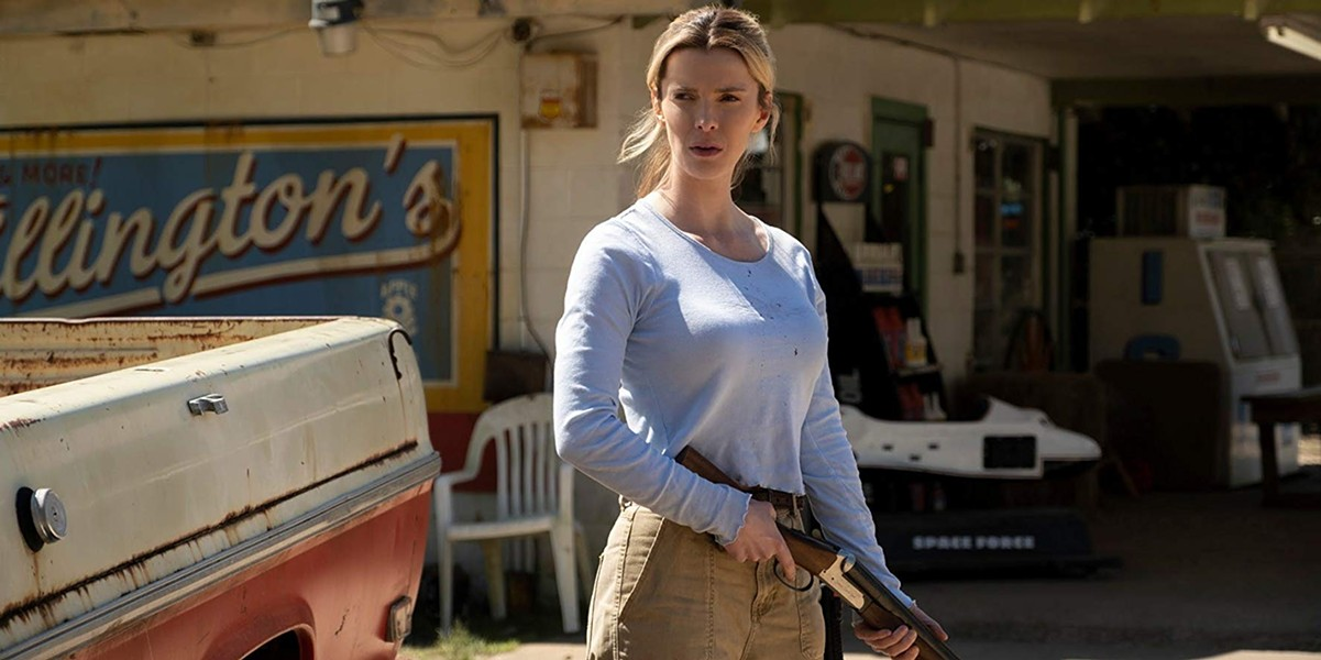 Betty Gilpin in The Hunt - BLUMHOUSE PRODUCTIONS