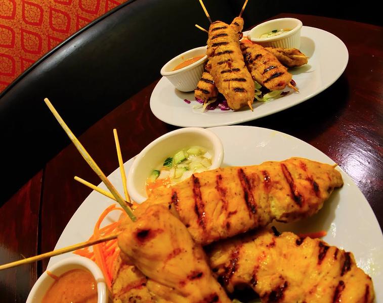 Chicken satay at Thai Archer - VIA FACEBOOK/THAI ARCHER