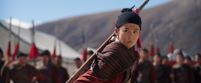 Yifei Liu in Mulan - WALT DISNEY PICTURES