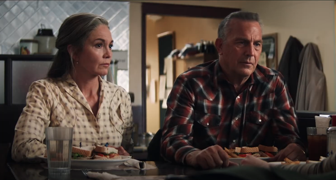 Diane Lane and Kevin Costner in Let Him Go - FOCUS FEATURES