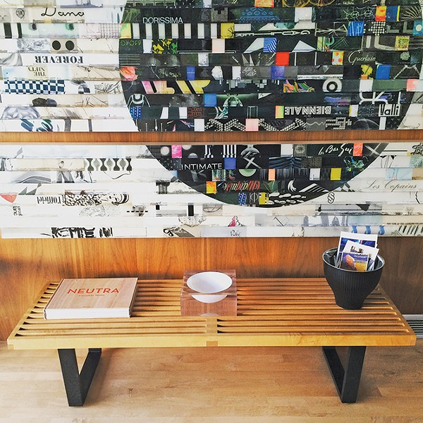 George Nelson slat bench