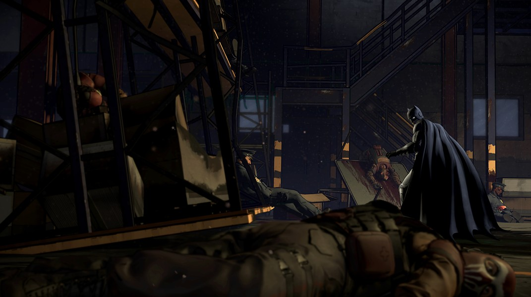 """""""In all the wearhouses in all of Goham, I had to find the one with all the bodies."""" - TELLTALE GAMES"""