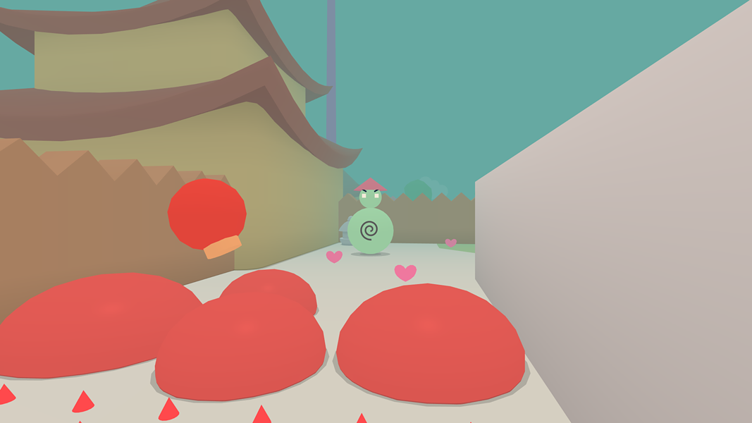 Dude, what is up with all the red stuff on the ground? - TINYBUILD
