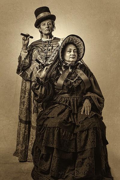 Teresa Sanderson and Tamara Howell