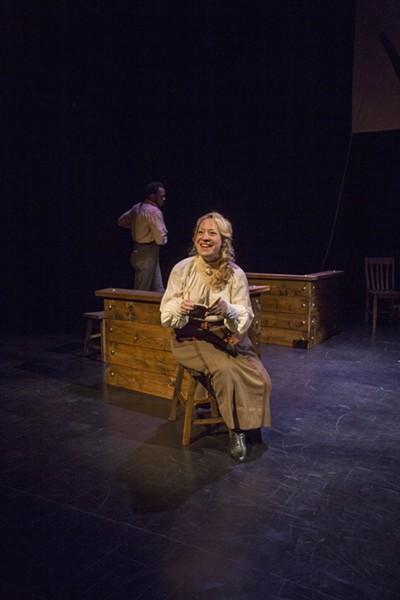 April Fossen as Rae Wellman - RICK POLLOCK