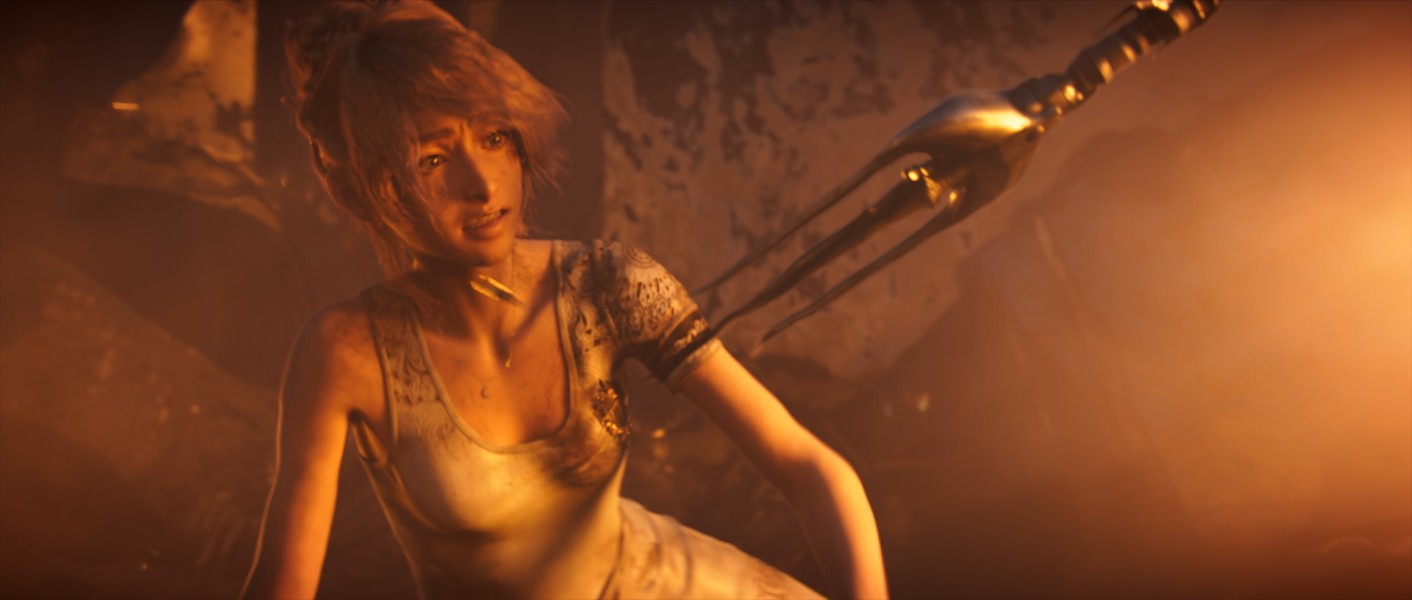 Somehow, I feel completely safe in your rage. - SQUARE ENIX