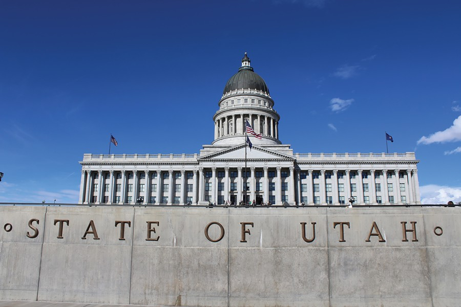 The 2017 legislative session concludes this week at the Utah State Capitol. - ENRIQUE LIMÓN