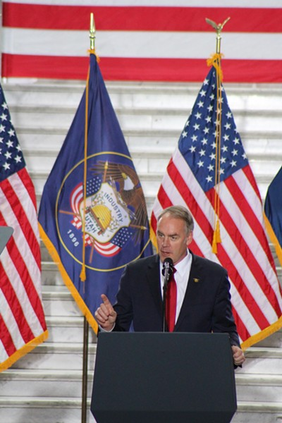 Interior Secretary Ryan Zinke - ENRIQUE LIMÓN