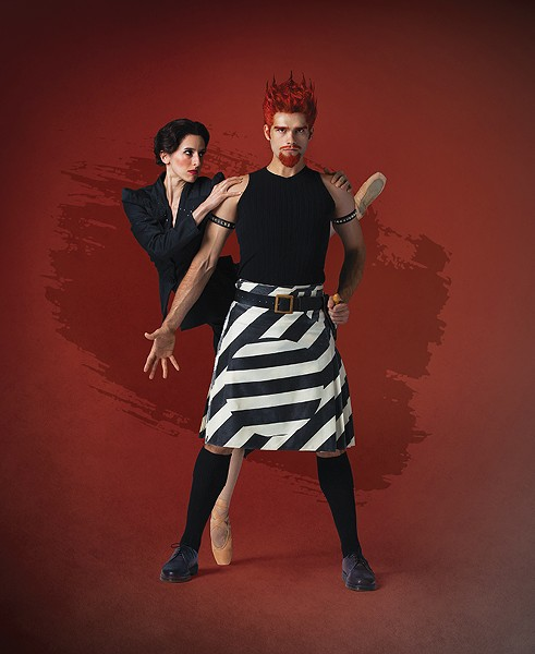 First Soloist Allison DeBona and Principal Artist Rex Tilton in The Shakespeare Suite. - BEAU PEARSON