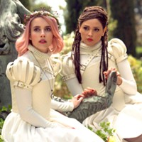 Emma Roberts and Eiza González in Paradise Hills