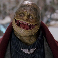 Toad after being de-evolved into a Goomba in 1993's seminal Super Mario Bros.