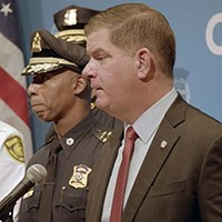 Boston mayor Marty Walsh in City Hall