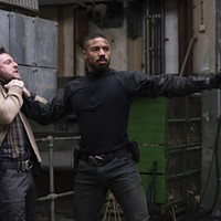 Jamie Bell and Michael B. Jordan in Tom Clancy's Without Remorse
